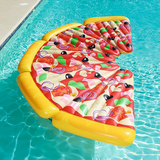 Bouée piscine pizza fun.