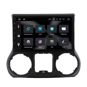 For Jeep Wrangler III (JK) 4GB+32GB Android 9 10.1 Inch Touchscreen Radio Bluetooth GPS Navigation Head Unit Stereo