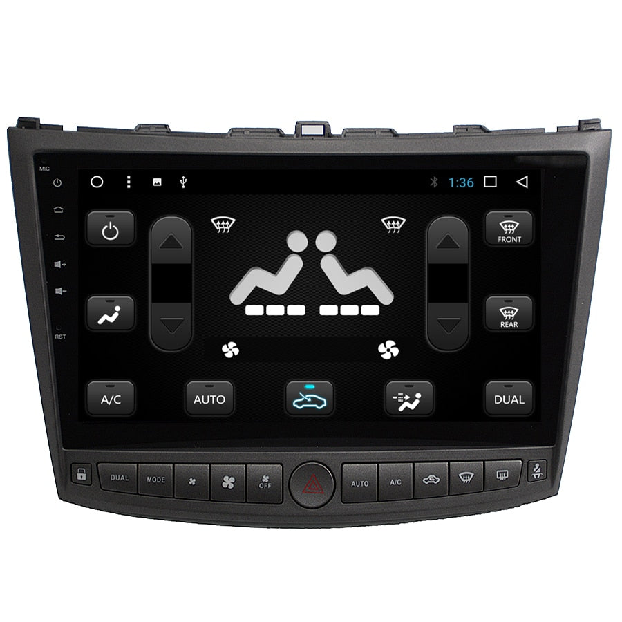 Car Multimedia Player Stereo GPS Navigation For Lexus
