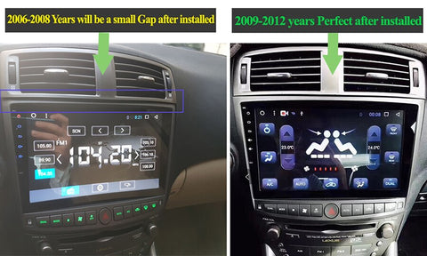 Image of Car Multimedia Player Stereo GPS Navigation For Lexus