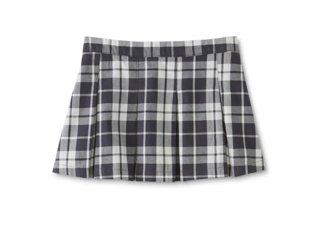 Canyon River Blues Girls' Plus Scooter Skirt-Plaid