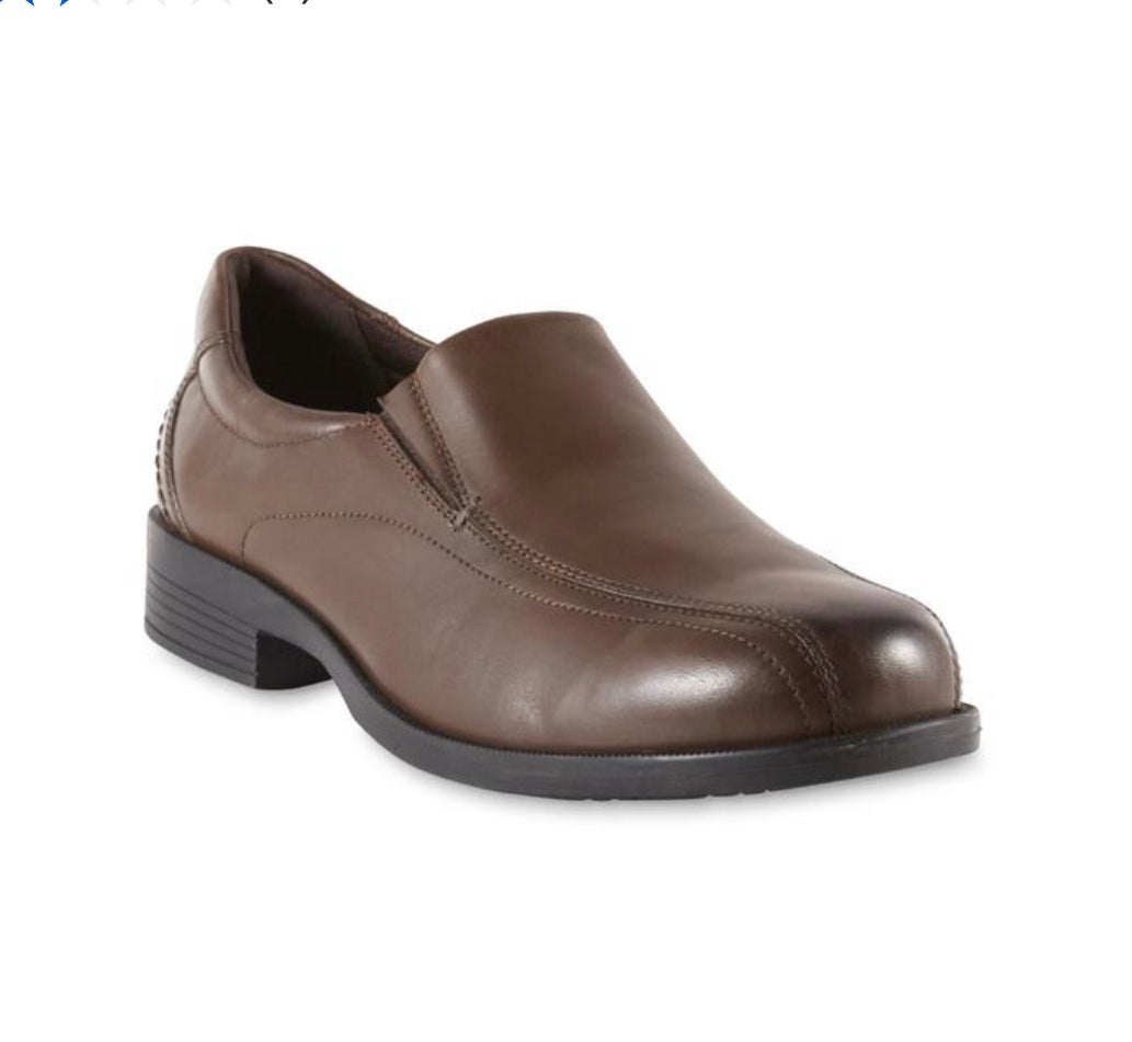 Thom McAn Men's Lanzo Leather Dress Loafer