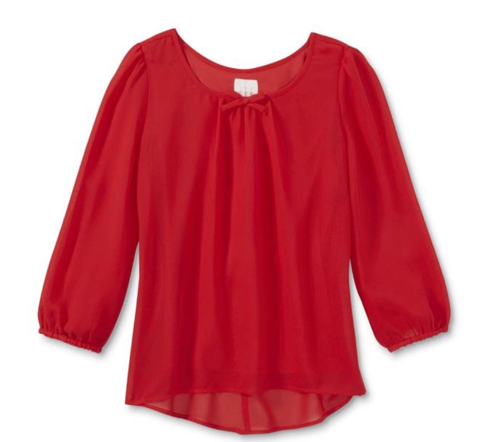 Canyon River Blues Girls' Bow-Back Top