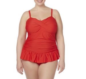 Tropical Escape Women's Plus One - Piece Swimsuit