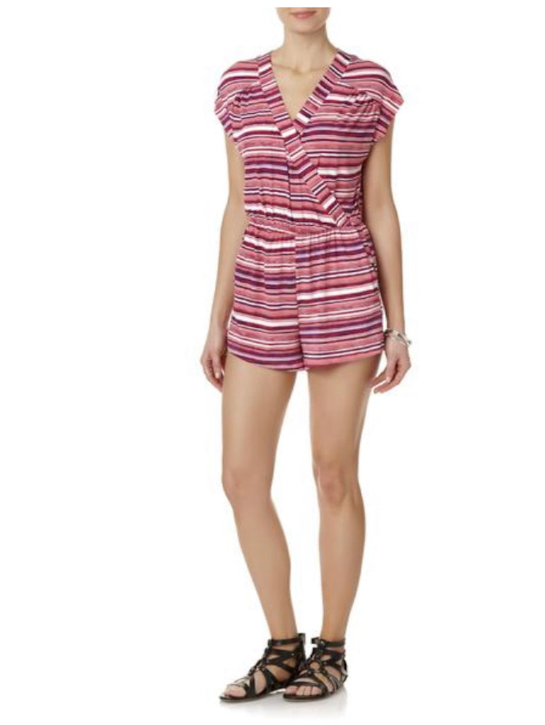 Simply Styled Women's Romper - Striped