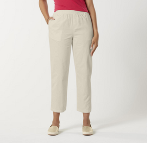 Basic Editions Women's Twill Pants