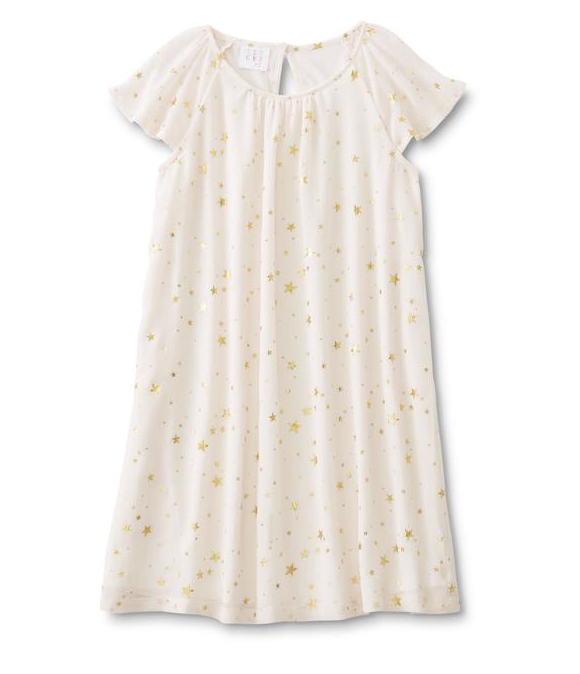Canyon River Blues Girls' Shift Dress - Stars