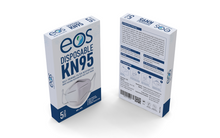 Load image into Gallery viewer, EOS KN95 Disposable Respirator Mask 5 Pack