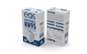 EOS KN95 Disposable Respirator Mask 10 Pack