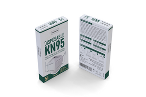 Your Brand KN95 Mask 5 Pack