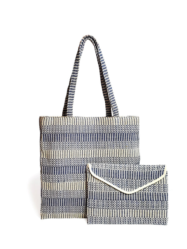 Dobi Eco Tote - Blue - White Ivy Interiors