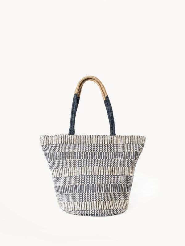 Dobi Mini Tote - Blue - White Ivy Interiors