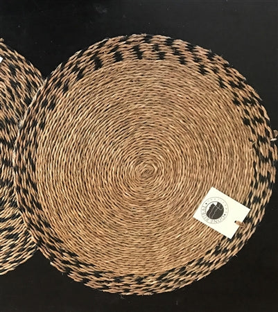 Woven Grass Placemats - White Ivy Interiors