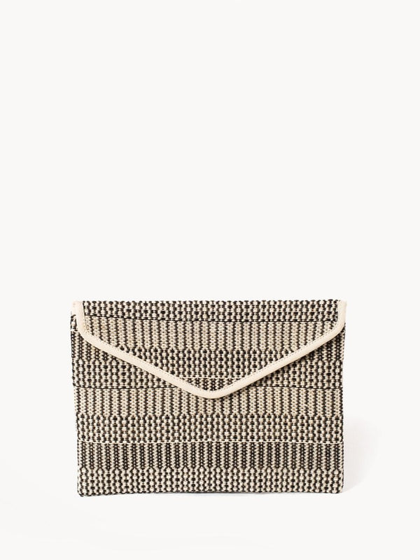 Dobi Clutch - Black - White Ivy Interiors