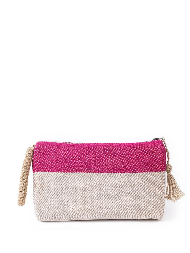 Block-a Clutch - Pink - White Ivy Interiors