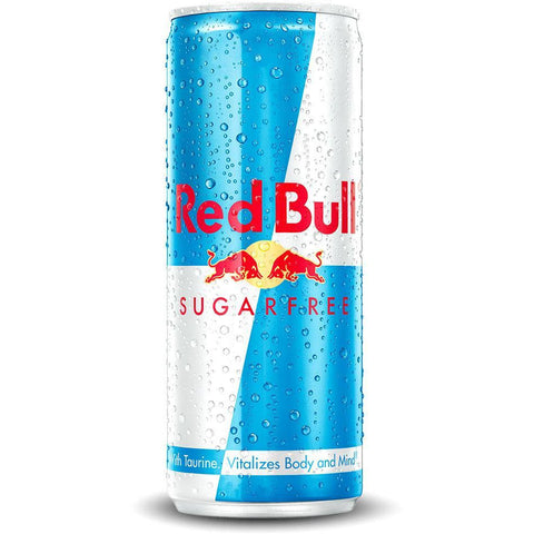 250ml Red Bull Sugarfree van nachtwacht