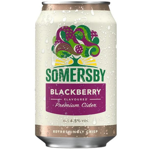 33cl somersby blackberry van nachtwacht