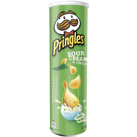 200 gm Pringles Sour Cream & Onion van nachtwacht