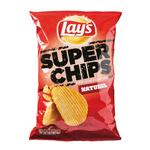 250 gm Lays Super Chips Naturel van nachtwacht