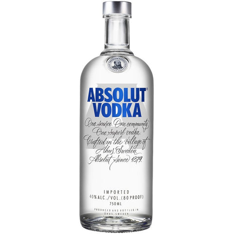 700ml absolut vodka van nachtwacht