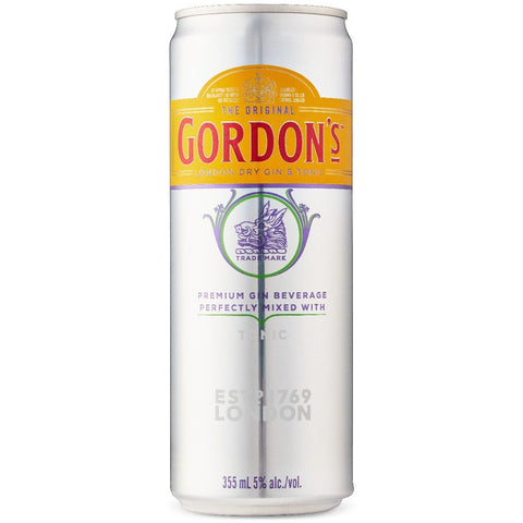 250ml gin gordon mixed with tonic van nachtwacht