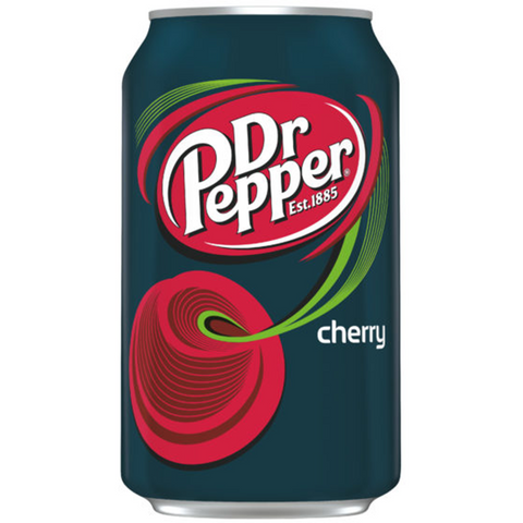 33cl Dr Pepper cherry van nachtwacht