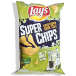 250 gm Lays Super Chips Salt'N Pepper van nachtwacht