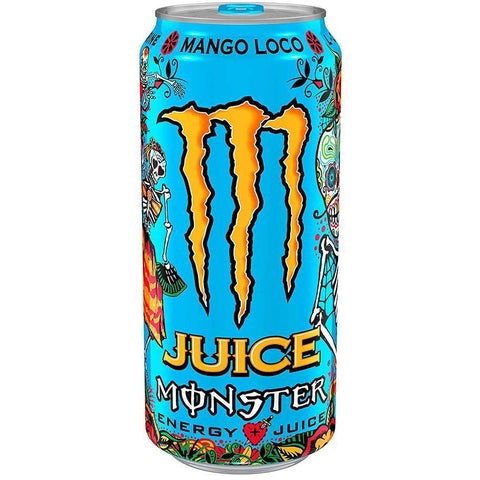 50cl Monster energy juice van nachtwacht