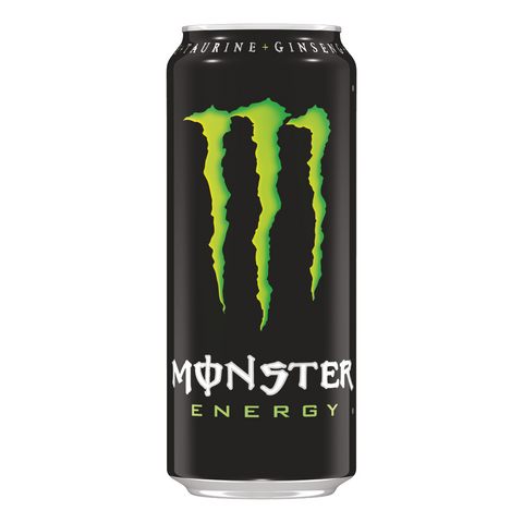 50cl Monster Energy van nachtwacht