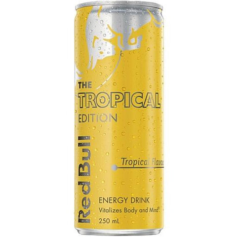 250ml Red Bull Yellow van nachtwacht