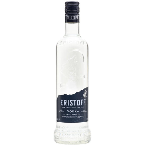 700ml vodka eristoff white