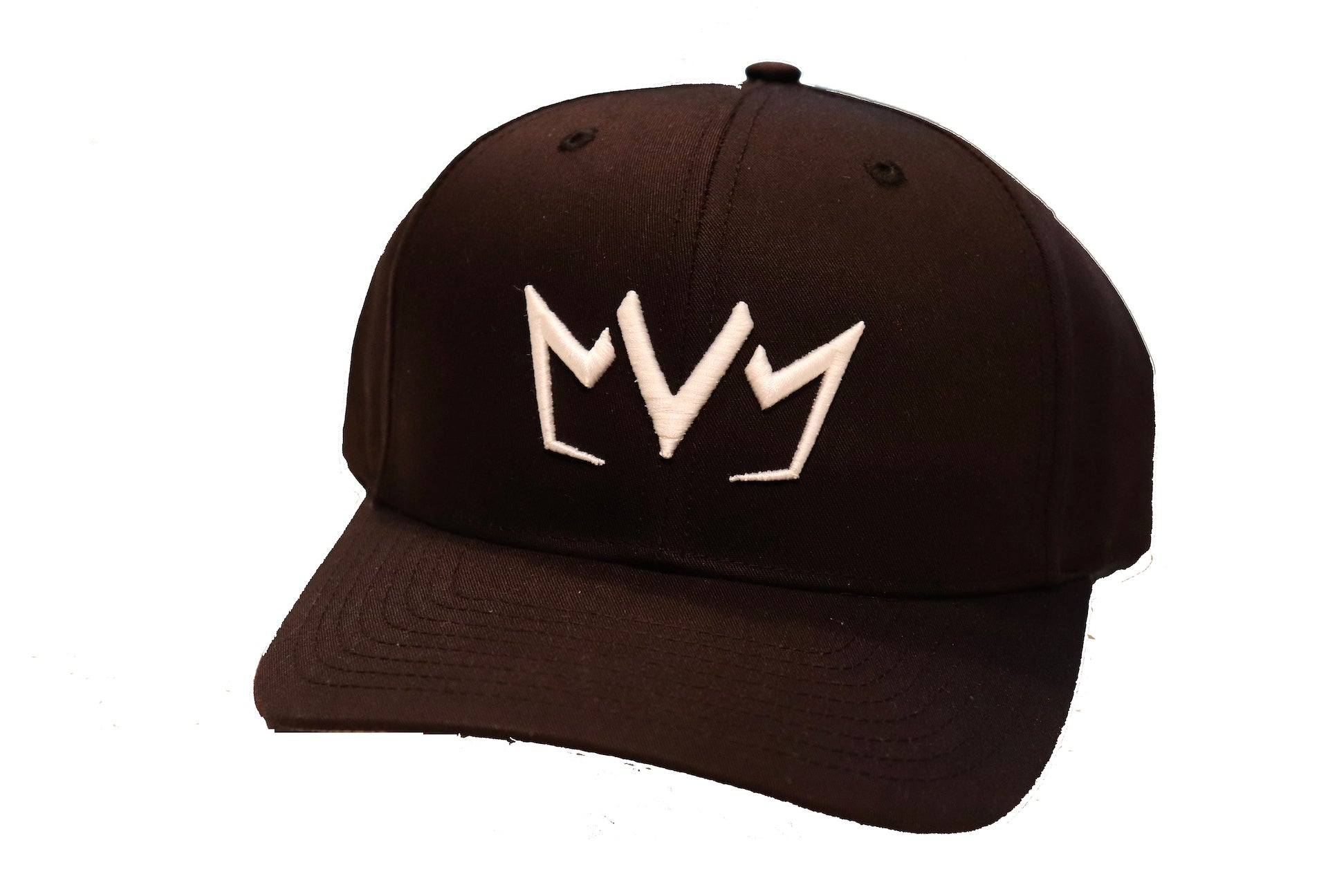 Black MVM Crown Snapback with the MVM Crown embroidered on the front.