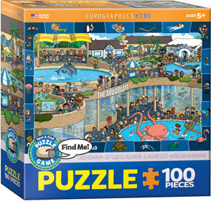 100 Pieces - Crazy Aquarium Puzzle