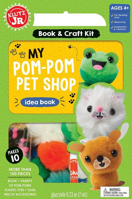 Klutz Jr:  My Pom-Pom Pet Shop