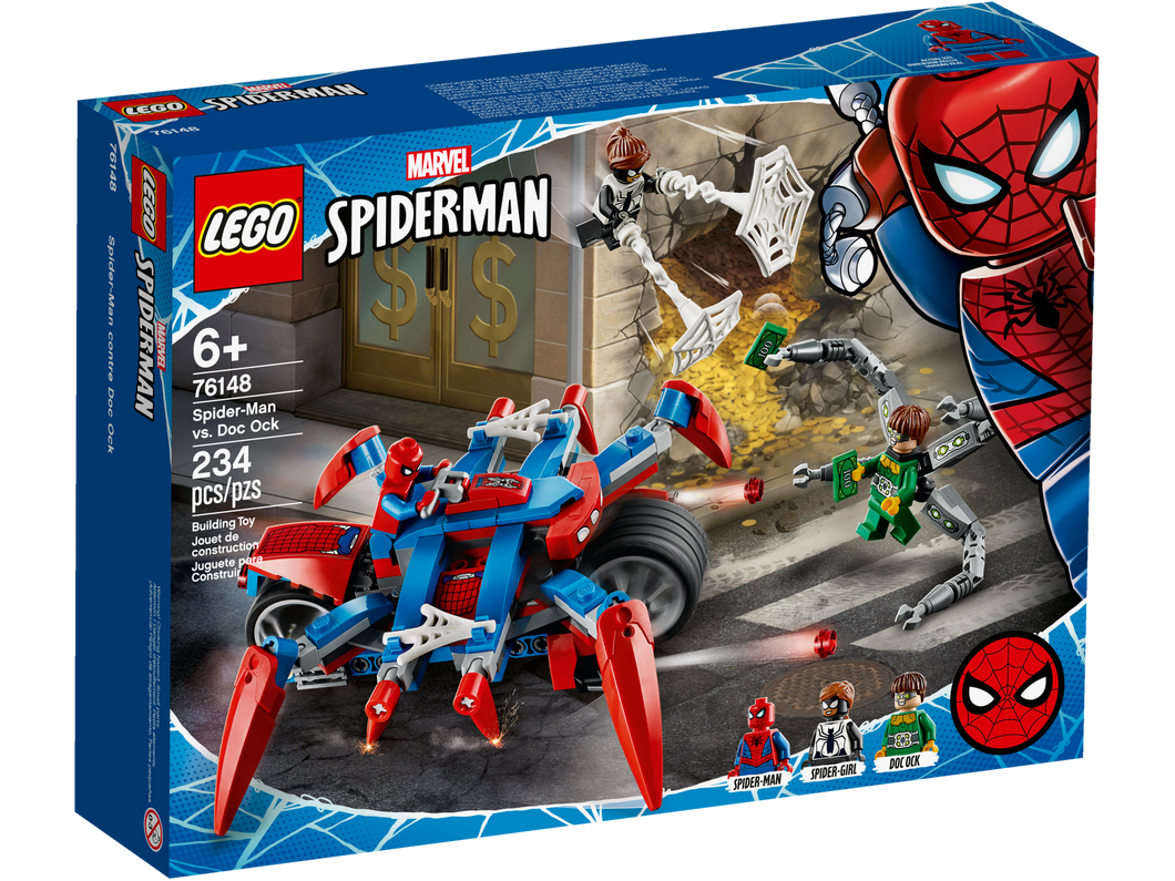 LEGO Spider-man vs Doc Ock