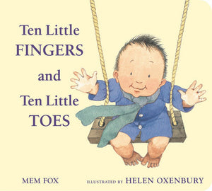 Ten Little Fingers and Toes (Padded Board Book)
