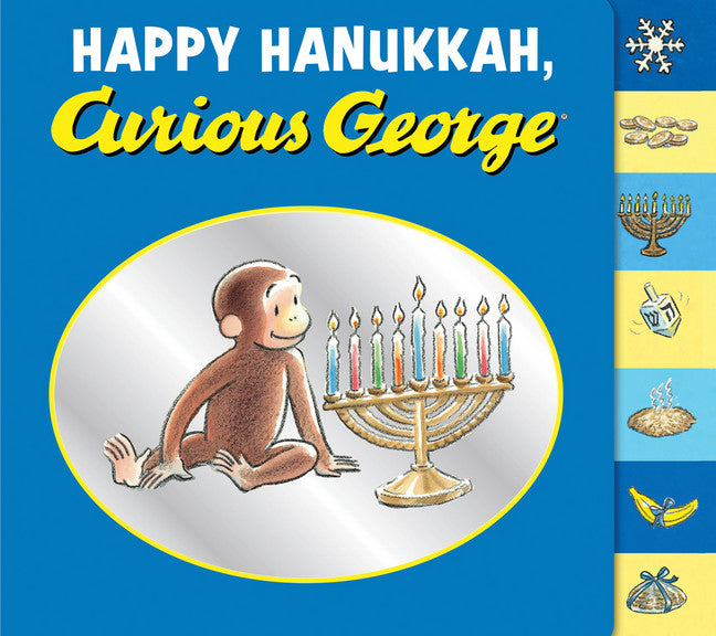 Curious George Happy Hanukkah