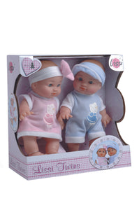Playwell Lissi Twin Baby Dolls