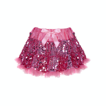 Load image into Gallery viewer, Skirt Petticoat Sequins Pink