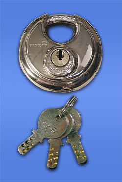 Code9 High Security 70mm SS Disk Lock