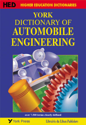 York Dictionary of Automobile Engineering (New impression)