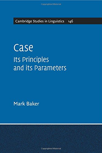 CASE ITS PRINCIPLES AND ITS PARAMETERS