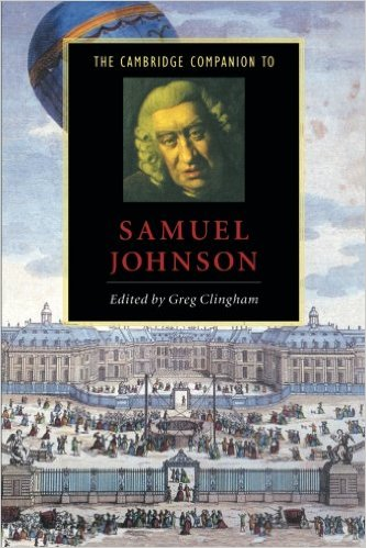 THE CAMBRIDGE COMPANION TO SAMUEL JOHNSON 97