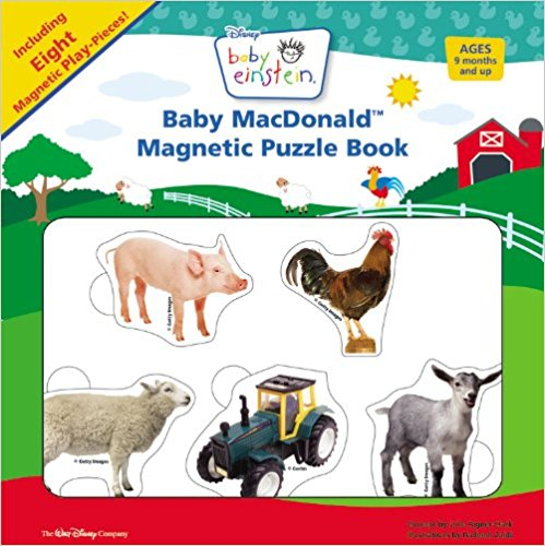 BABY MACDONALD MAGNETIC PUZZLE BOOK