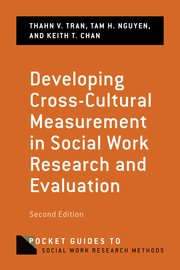 DEVELOPING CROSS-CULTURAL MEASUREMENT IN SOCIAL WORK RESEARCH&EVALUATION