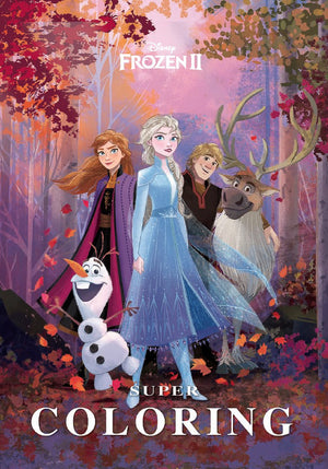 Super-Coloring---Frozen-2-Book-cover-image