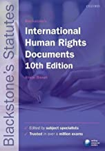 Blackstone's International Human Rights Documents 10/e (Paperback)