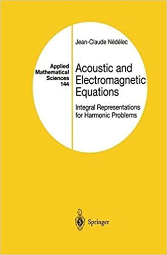 Acoustic & Electromagnetic Equations