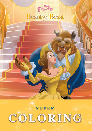 Super-Coloring---beauty-and-the-beast-Book-cover-image