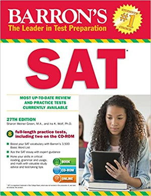 BARRON'S SAT WITH CD